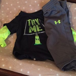 Under Armour baby boy outfit